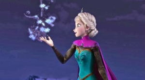 Elsa Silver lining Let it go