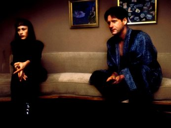 Blue Bill Pullman Robe Couch 1